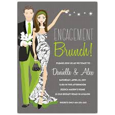 brunch invitations engagement brunch invitations paperstyle