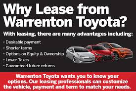 toyota lease phone number toyota lease offers in warrenton va