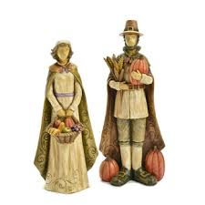 thanksgiving pilgrim statues painted thanksgiving resin pilgrim and woman figurines