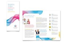 tri fold brochure publisher template insurance tri fold brochure templates