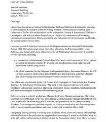 cover letter sle sle cover letter for academic position