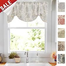 Tie Up Curtains Tie Up Curtains For Windows Linen Textured Adjustable