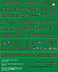 ryu street fighter sprite sheet by somenamelesspunk on deviantart