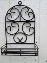 Wrought Iron Wall Shelves Wrought Iron Shelves I U0027d Love To Have These In The Bathroom
