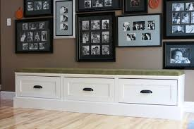 ana white drawer bases turned banquette diy projects