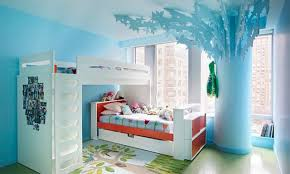 bedrooms bedroom alluring decorating blue wall tiffany girls