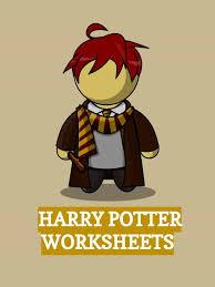 harry potter worksheets facts kidskonnect