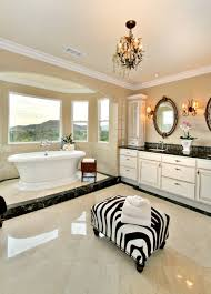 Bathroom Bay Window Bathroom Contemporary Bathroom With Alcove Plus Animal Print