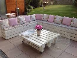 canapé de jardin en palette salon jardin palette intended for meuble de jardin avec palette