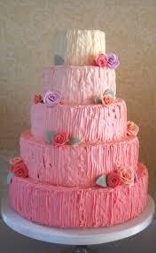Wedding Cake Green Pink Buttercream Rose Wedding Cake Green Kitchen Cakes