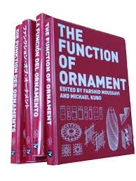 file photograph of translated versions of the function of ornament