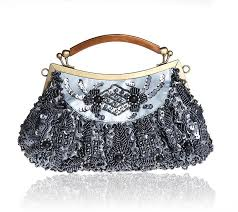 Bridal Party Makeup Bags Purple Chinese Women U0027s Beaded Sequined Wedding Evening Bag Clutch