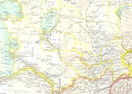 Blank Map Of Central Asia by Atlas Map Of Asia New Zone