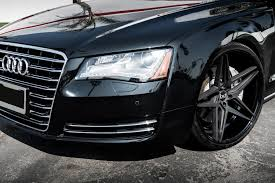 audi s8 matte black blaque bd 8 wheels matte black with gloss black lip rims
