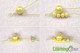 diy pearl bead bracelet images How to make a champagne wave bracelet with pearls for wedding jpg