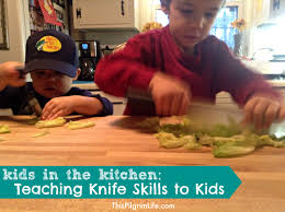 kitchen knives for children teaching knife skills to when what how this pilgrim