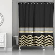 Black Sequin Shower Curtain Grey And Gold Shower Curtain Medallions Shower Curtain In Grey