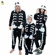 Skeleton Halloween Costume Kids Online Get Cheap Skeleton Pajamas Kids Aliexpress Com Alibaba Group