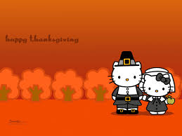 happy thanksgiving animation the top free hello kitty wallpapers