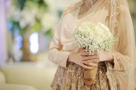wedding dress syari nia fifin wedding by laksmi kebaya muslimah islamic wedding