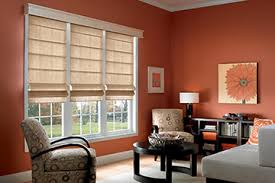 Roman Shades Over Wood Blinds Classic Roman Shades Bali Blinds And Shades