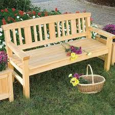 Plans To Build A Wooden Garden Bench by Woodworking Project Paper Plan To Build Garden Bench