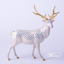 heren deer figurines herend animals