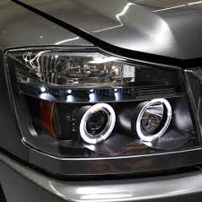 nissan titan fog lights spyder 2004 2015 nissan titan headlights