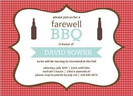 farewell party invitation checkered backyard bbq farewell party invite going away invitations