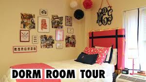 preppy college dorm room tour youtube