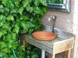 Garden Sink Ideas Garden Sink Faucet For Outdoor Sink Pallet Sink Outdoor Garden
