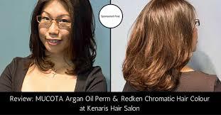 makeover 2015 mucota argan oil perm and redken chromatics hair
