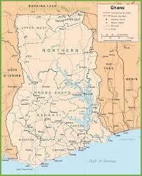 Ghana Map Africa ghana maps maps of ghana