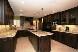kitchen oven red potatoes entry wall cabinet california granite