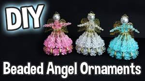 diy beaded ornaments for easy project for the