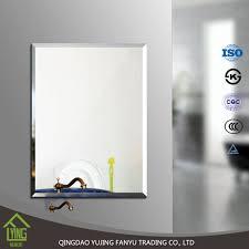 Beveled Bathroom Mirrors by Frameless 3mm Beveled Bathroom Mirror Tiles Buy Rectangle