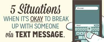 Breaking Up Meme - 5 situations when it s okay to break up with someone via text
