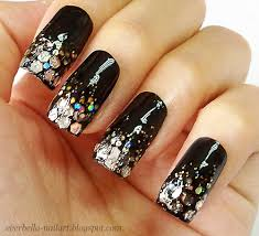 glamorous glitter nail art design by everbella on deviantart