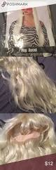 halloween wig blonde hair other halloween and hair