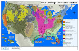 Midwest United States Map by Landscape Initiatives Nrcs South Dakota