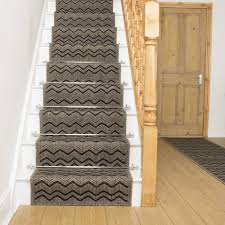 Chevron Runner Rug Brown Stair Runner Rug Chevron Free Delivery Plus A No Quibble