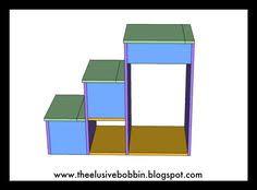 Plans For Loft Beds With Storage by Ana White Build A Storage Stairs For A Bunk Or Loft Bed Free