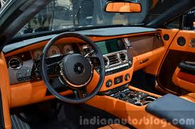 rolls royce ghost interior 2015 rolls royce dawn interior at the 2015 iaa indian autos blog