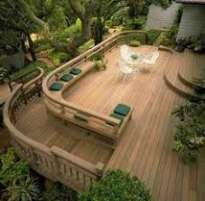 Decks With Benches Built In Hickory Dickory Deck U2026 Decking Backyard And Outdoor Living