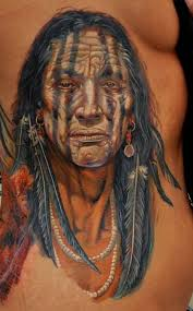 amazing tribal and native american tattoos on whole back