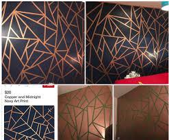 frog tape copper paint navy paint u003d wowza amazing geometric