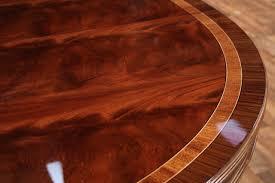 home design coaster 104270 brooks round medium oak extension