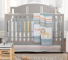 Lion King Crib Bedding Organic Little Lion Baby Bedding Pottery Barn Kids
