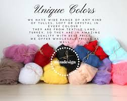 tulle by the yard color tulle etsy