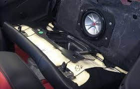 c6 corvette sub box 5 camaro 2011 2015 convertible factory replacement subwoofer